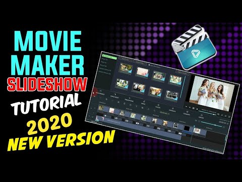 Movie Maker SLIDESHOW Tutorial (MOVIEZILLA) ★ FOR