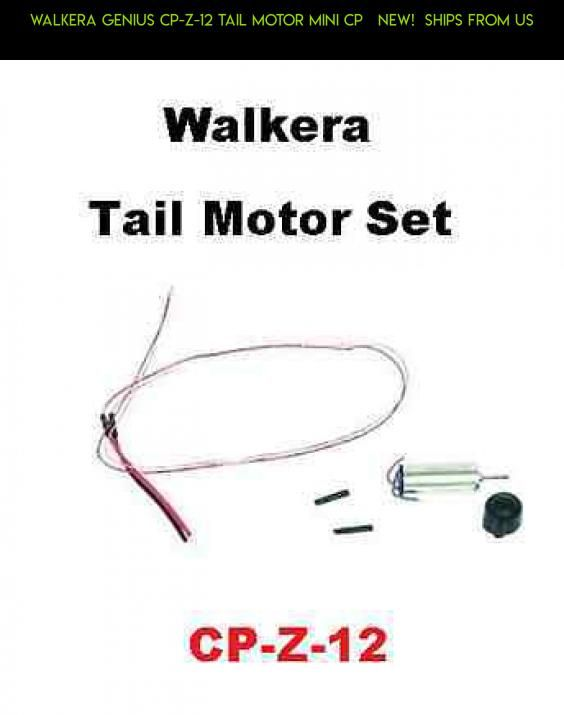Walkera Genius CP-Z-12 Tail Motor Mini CP NEW! SHIPS FROM US ... on