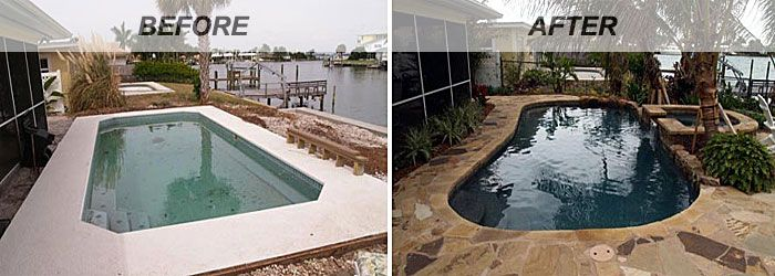 Swimming Pool Renovations Before And After Intheswim Blog