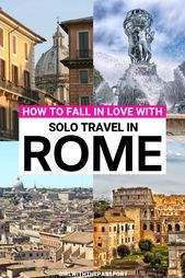 Solo travel in Rome, Italy can be a bit of a challenge since Rome is known as on... #bit #Challenge #Italy #Rome #solo #travel