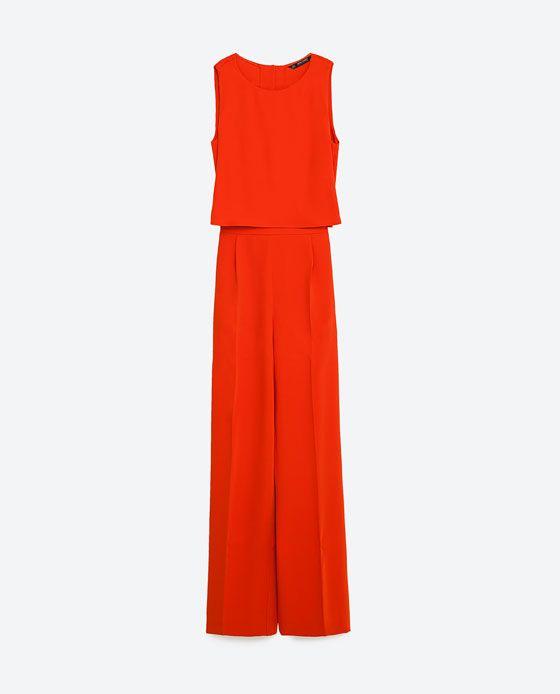 best selling official site hot sale online Image 8 de COMBINAISON LONGUE À CAPE de Zara | Combinaisons ...