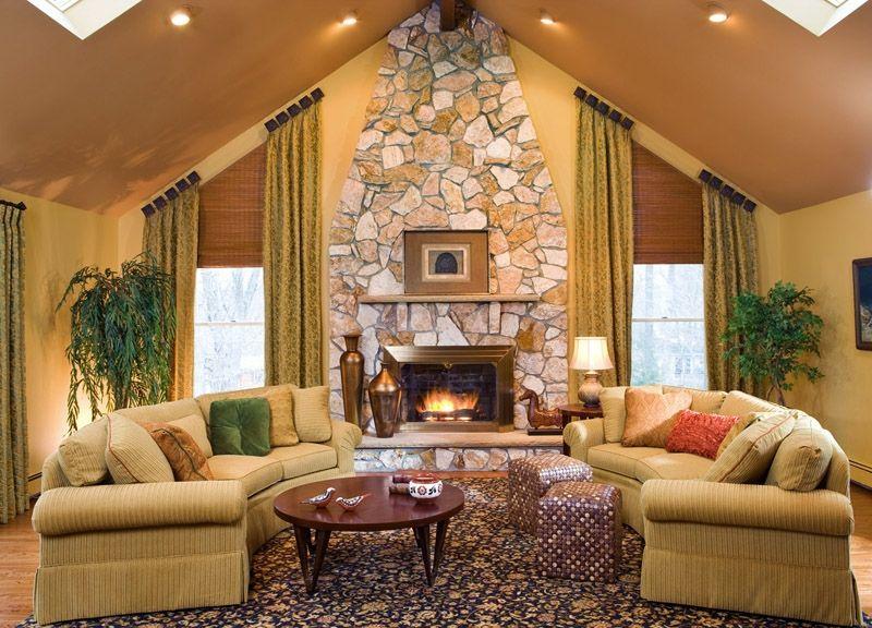 Interior Design by Decorating Den Interiors   Fantasy Villa ...