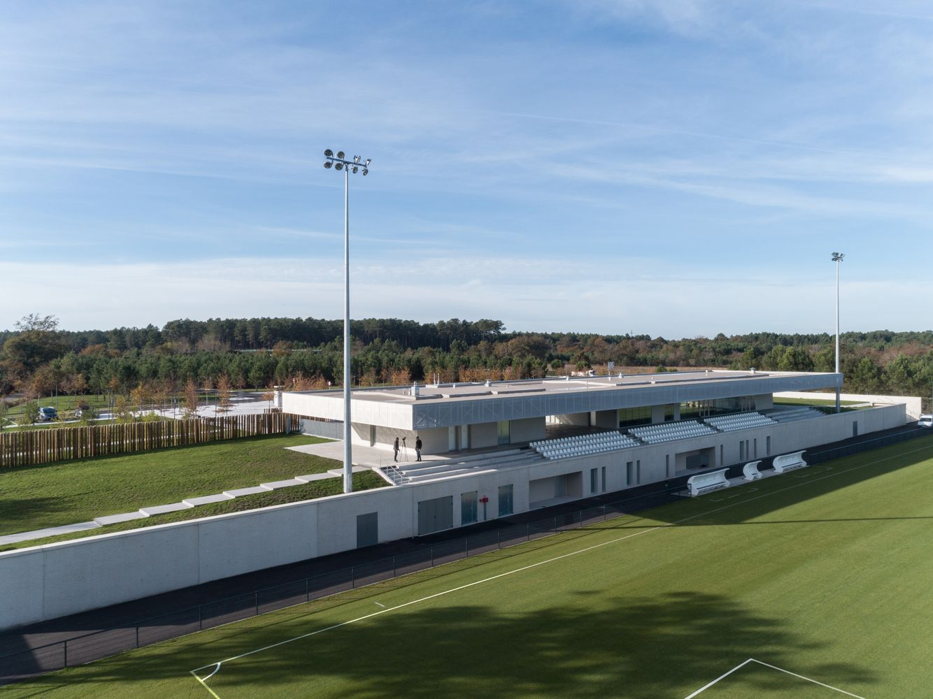 Gallery of Plaine des Sports / OLGGA Architects + Atelier