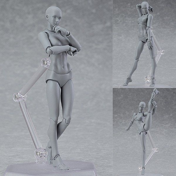 Figma Archetype Next: She Grey Color Ver. [IN STOCK]  Now available in stock from: http://www.figurecentral.com.au/products/figma-archetype-next-she-grey-color-ver-in-stock?variant=18461387585  #figma #archetypenext #maxfactory #figurecentral