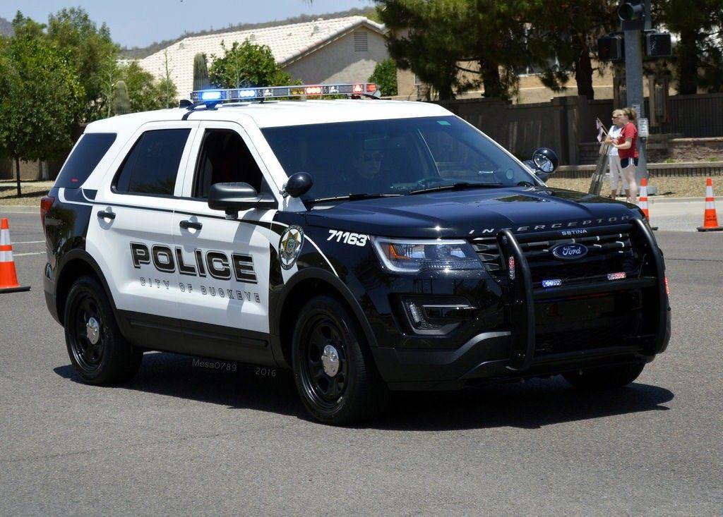 City Of Buckeye Az Police 71163 Ford Interceptor Utility Police Cars Ford Police Emergency Vehicles