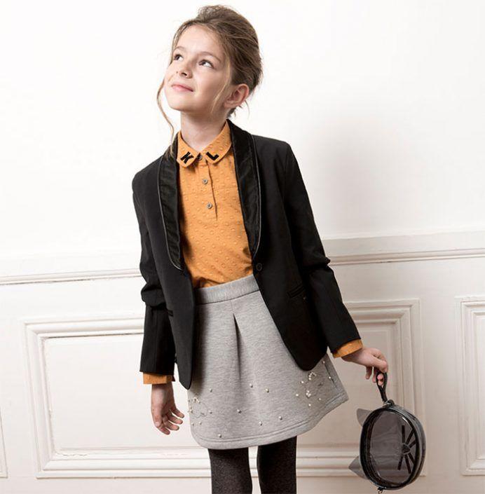 Ropa de lujo para niños invierno 2017: Karl Lagerfeld Kids. #modainfantil #blogmoda #blogmodainfantil
