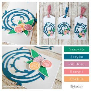 Kleine Geschenke | Geschenkanhänger mit dem Swirly Bird Produktpaket {Freebie}