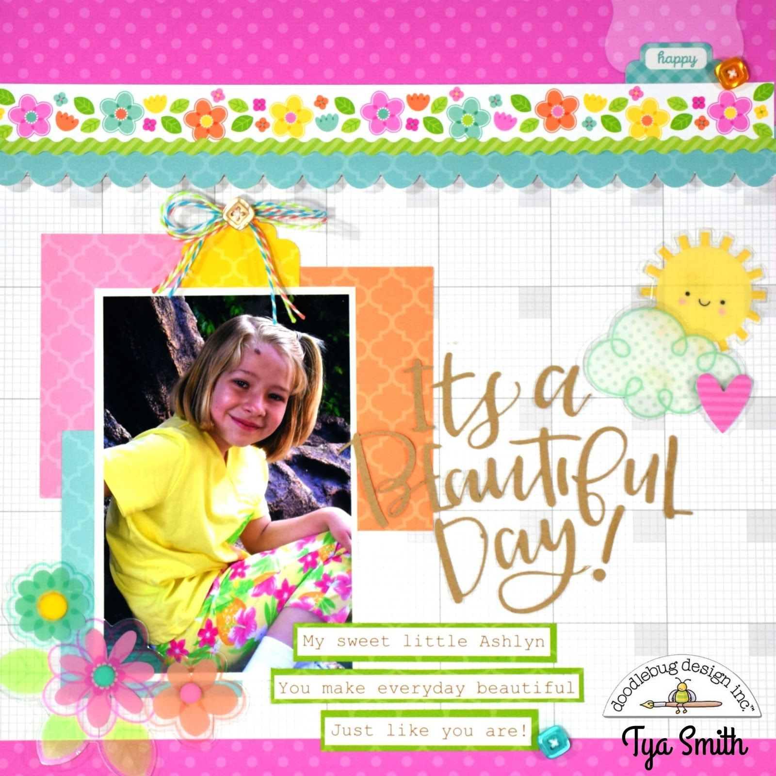 Created by Tya from Doodlebug Design Team