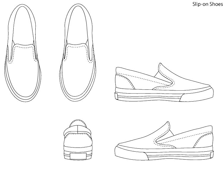 Shoe Design Template At Qc04 Advancedmassagebysara