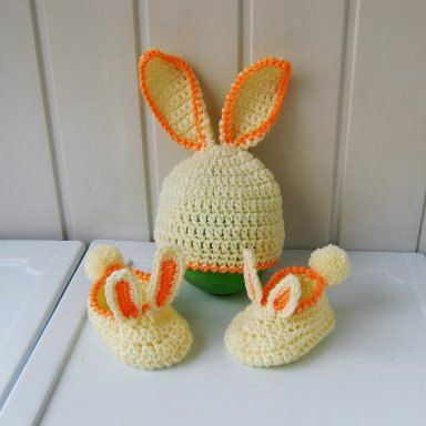 Chaussons et chapeaux Bonnets enfants tricot par NataliaHandmede