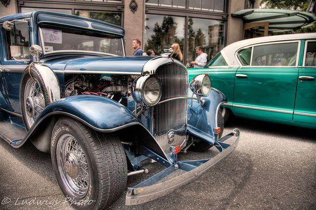 Classic Blue Cars - Car shows in washington state