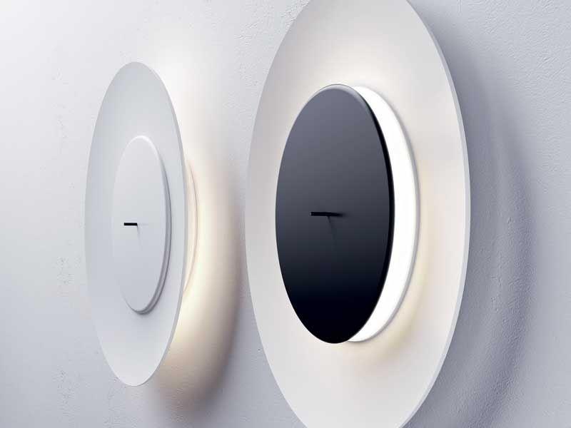 Plafoniere Da Muro Moderne : Applique e lampade da parete moderne lunaire di