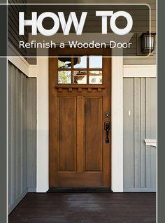 Photo of How to Renovate Your Wooden Door