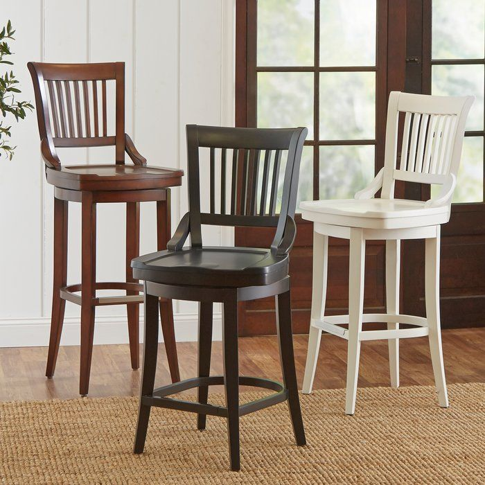 Perfect Pulled Up To Your Kitchen Island Or Pub Table, This Timeless  Barstool Showcases A