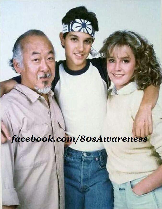 Elisabeth Shue Ralph Macchio The karate kid 1984 (p...