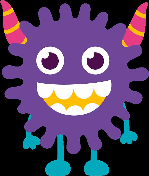 Monster Clipart, Cute Monsters, Doodle Monster