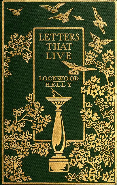 Beautiful Book Cover Letter ~ Book cover letters that live covers books and