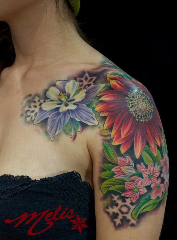 10 Floral Tattoo Artists You Could Trust Your Skin To: Pin On Tattoo Ideas