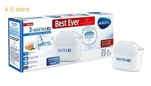 Brita Maxtra Water Filter Cartridges White Pack Of 3 Uk Version Water Filter Water Filter Cartridges Water Filter Cartridge