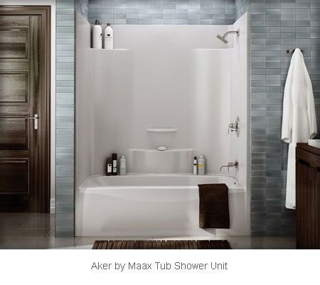 Aker By Maax Tub Shower Unit Ts 3660
