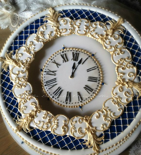 Clock cake | Flickr: Intercambio de fotos
