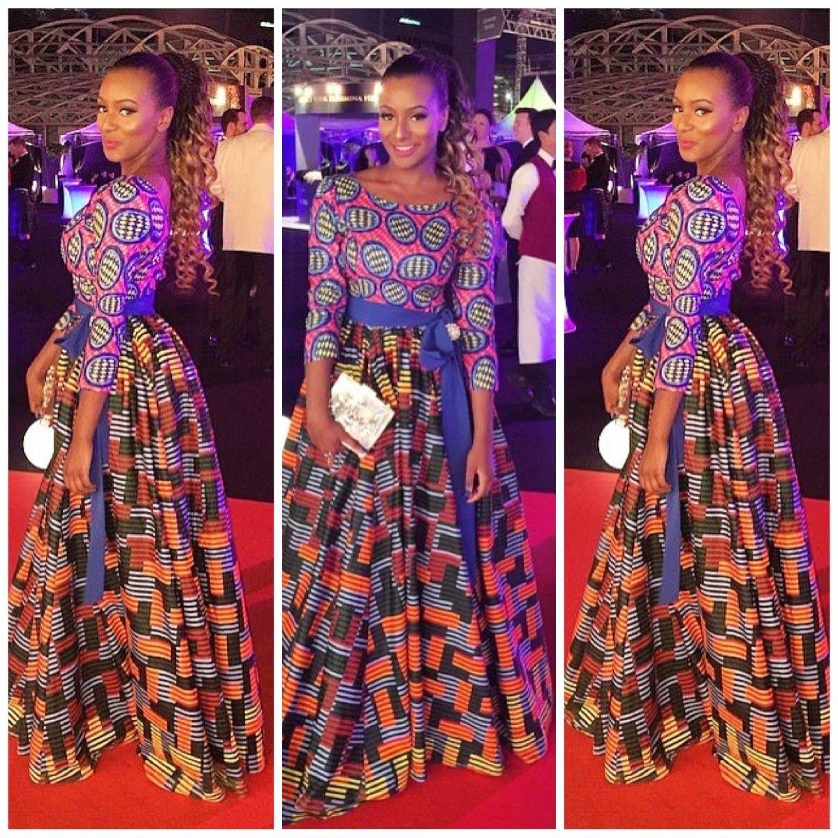 Beautiful Ankara Combination Style Dezango Fashion Zone Latest African Fashion African