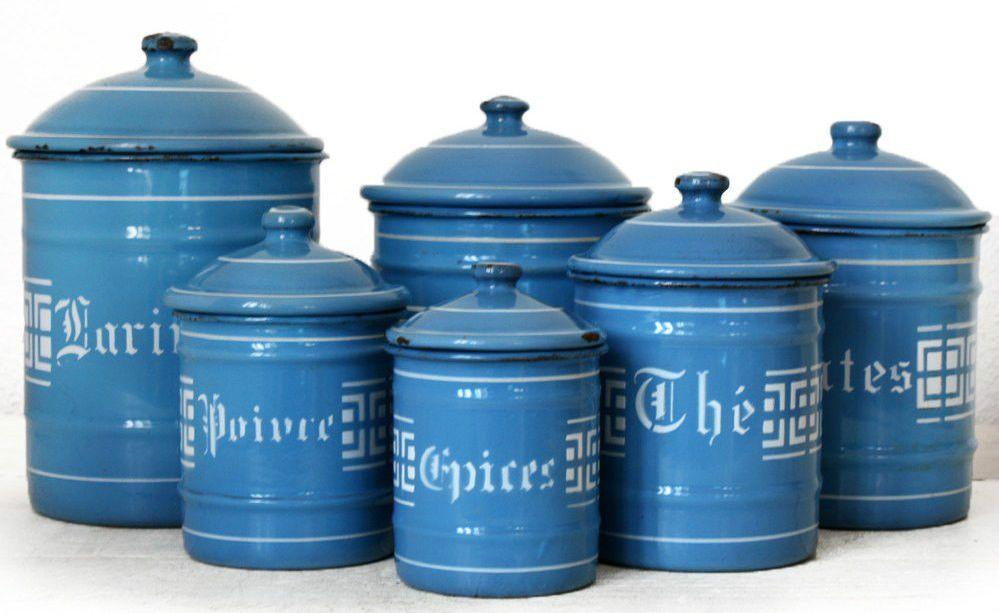 Lujoso Conjuntos Frasco Azul De Cocina Ornamento - Ideas de ...