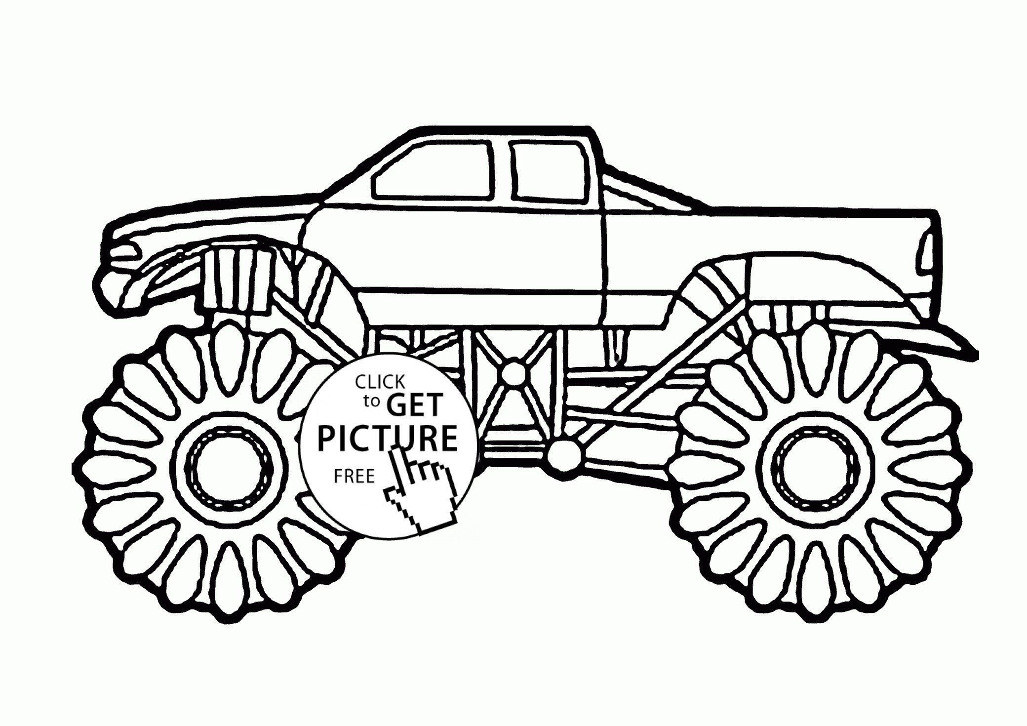 Monster Truck Coloring Pages Best Of Monster Truck