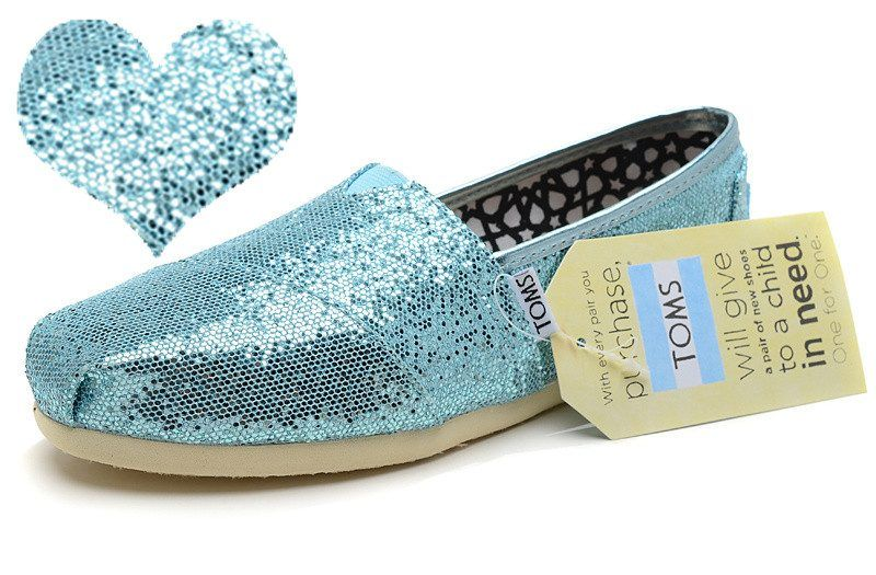 Are you running out of ideas as to what you can give to that chic lady who seems to have everything in this wo... -  TOMS Glitter Slip On . Discover More at: http://www.topteny.com/top-10-unusual-gifts-women-everything/