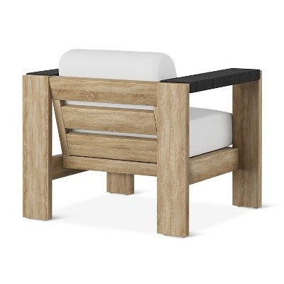 Montpelier Wood Patio Club Chair With Sunbrella Fabric   Smith U0026 Hawken Part 39