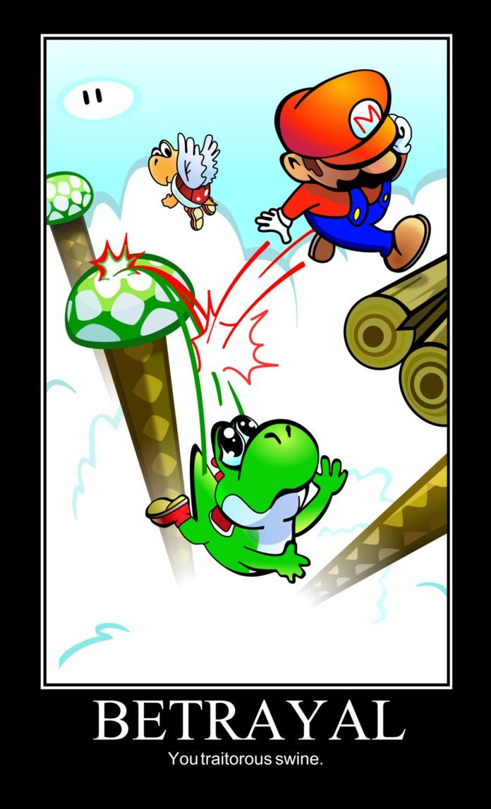 Image result for Leaping off yoshi  meme