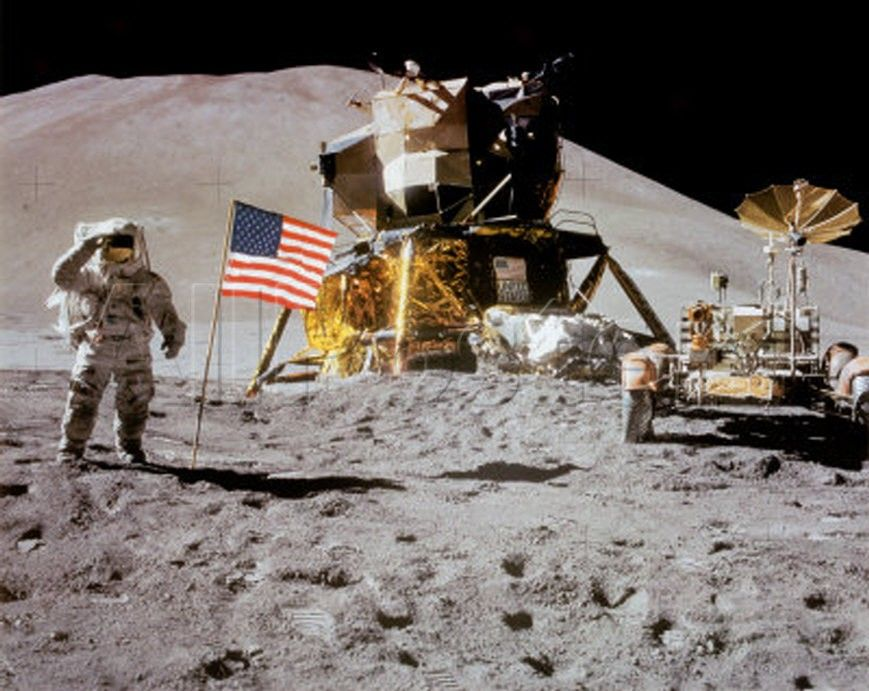 Armstrong and Aldrin- everyone's gone to the moon.