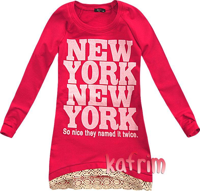 Gruba Ciepla Tunika Z Rozpoznawalnym Nadrukiem L Graphic Sweatshirt Sweatshirts Fashion