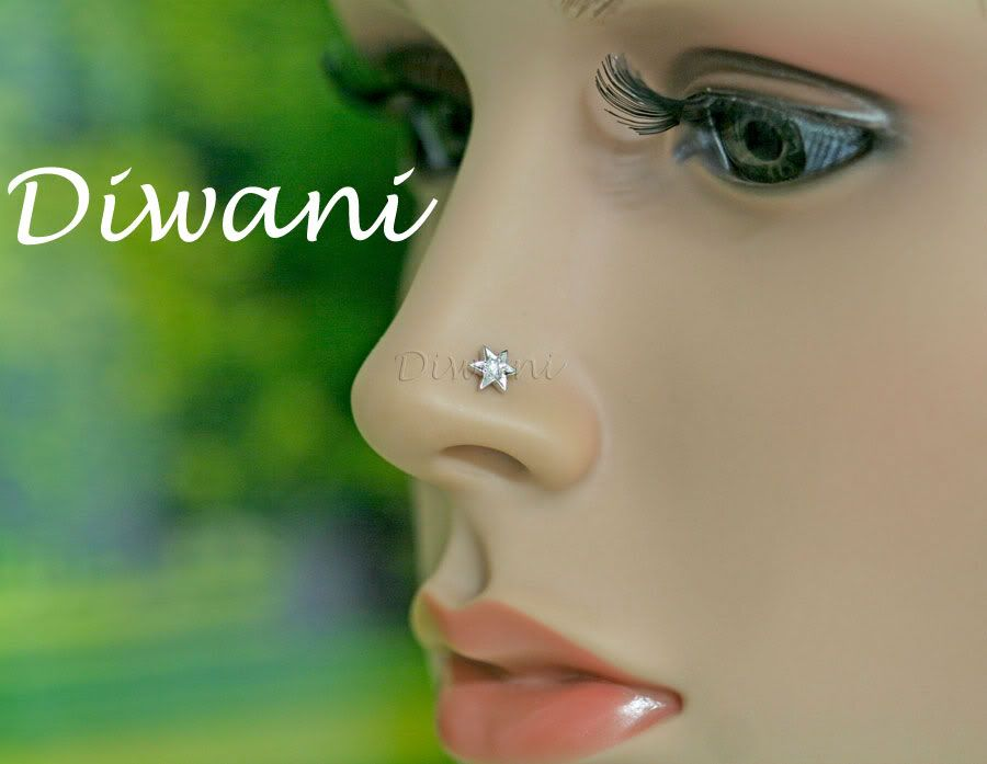 Unique Nose Studs Real Vvs Diamond Gold Fine Nose Lip Labret Piercing Ring Stud Screw Labret Piercing Ring Labret Piercing Labret