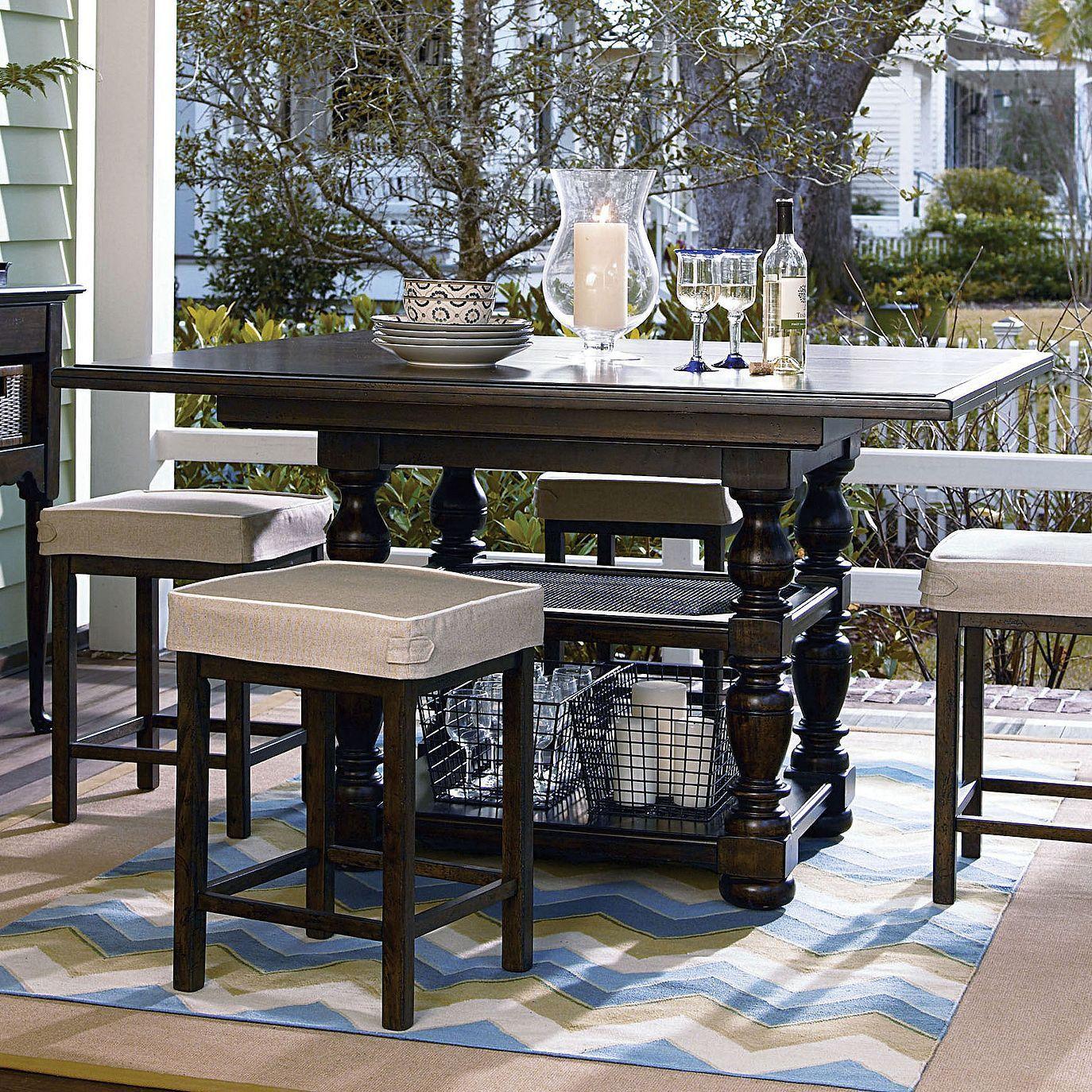 Universal Furniture Paula Deen Down Home Gathering Table In Molasses Finish Paula Deen Furniture Universal Furniture Dining Table In Kitchen #paula #deen #living #room #furniture