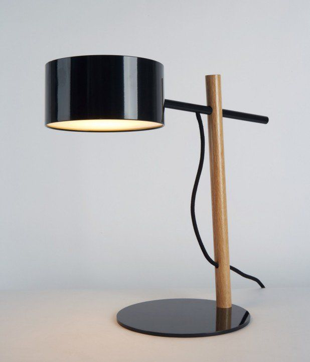 Designed By Rich Brilliant Willing A Spare And Economical Form The Excel Desk Lamp Is Part Of