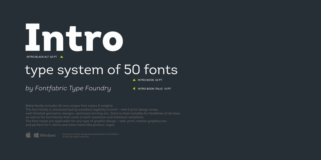 Intro Font Free Download - Free Fonts What distinguishes the new