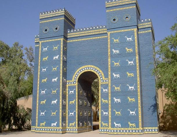 The Magnificent Constructions Of King Nebuchadnezzar Ii Ancient Mesopotamia Ancient Architecture Blacks In The Bible