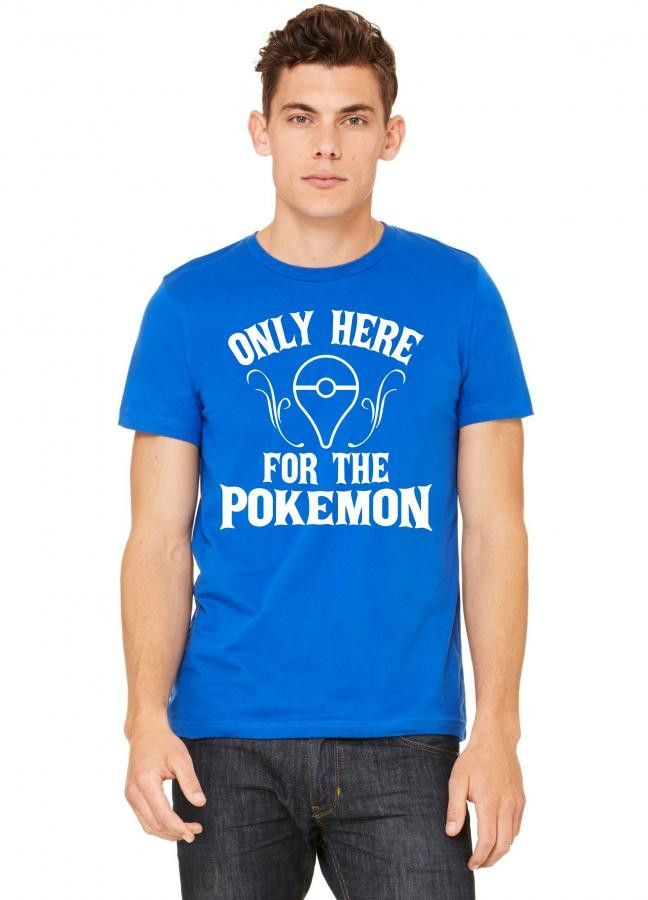 only here for the pokemon Tshirt