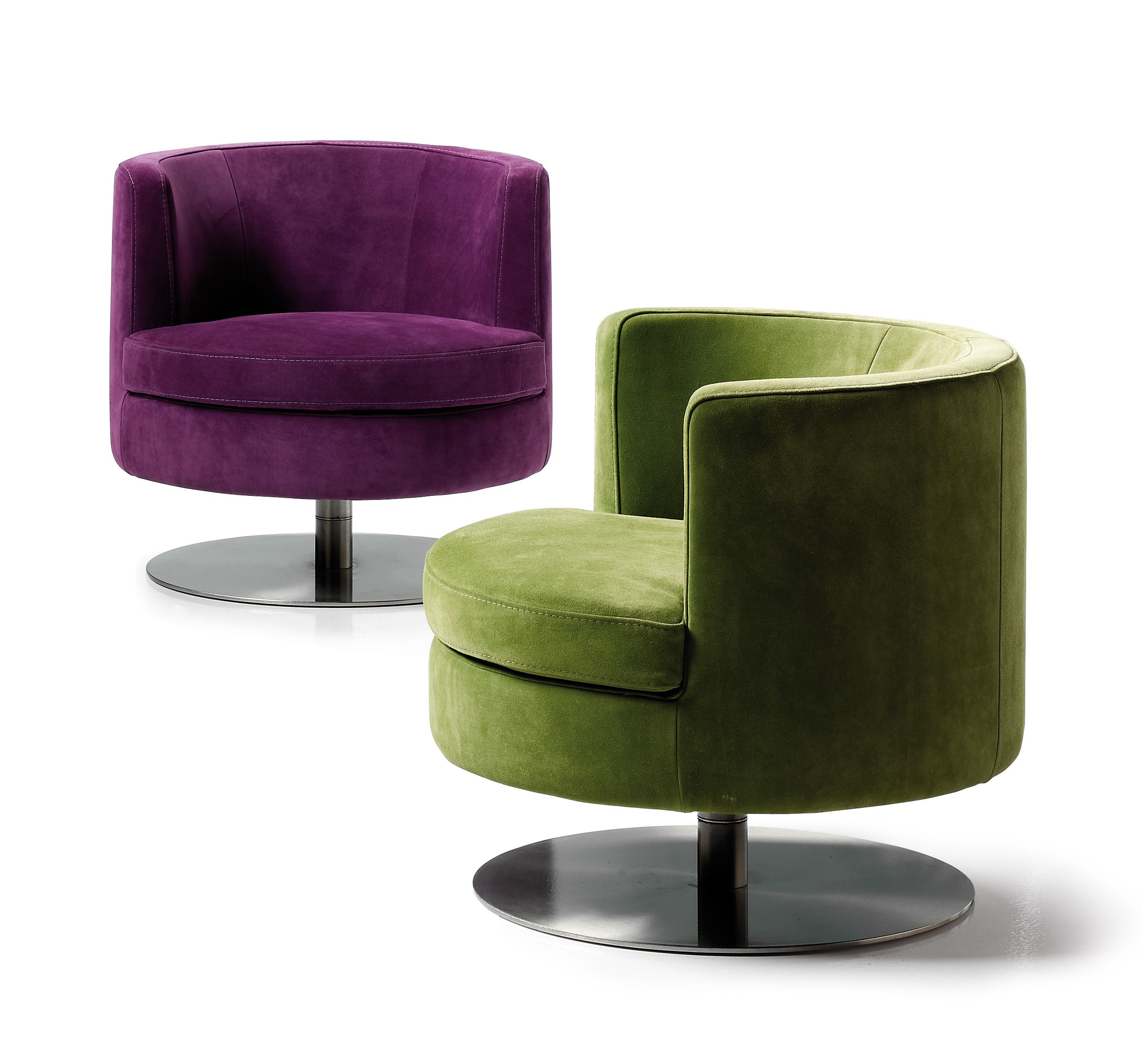 Frisbee Swivel Chair Modern Design Living Room Seating