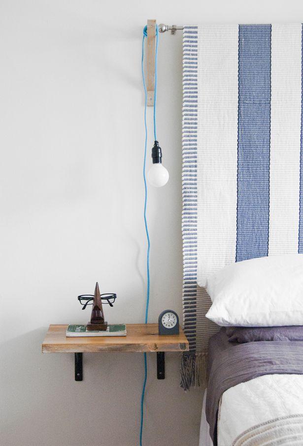 Shining Some Light Floating Shelves Bedroom Diy Nightstand