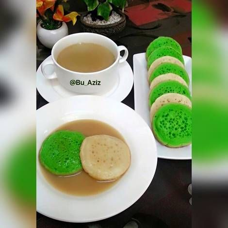 Resep Serabi Kuah Kinca Oleh Bu Abdul Aziz Resep Kue Camilan Makanan Dan Minuman Makanan