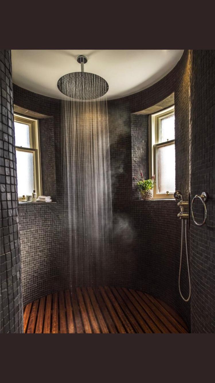 Pin von Sab Rina auf Zuhause gestalten | Badezimmer rustikal ...