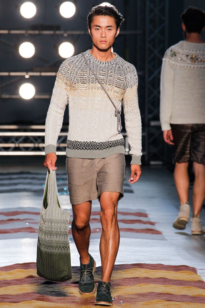 Missoni Spring 2013 Menswear Collection