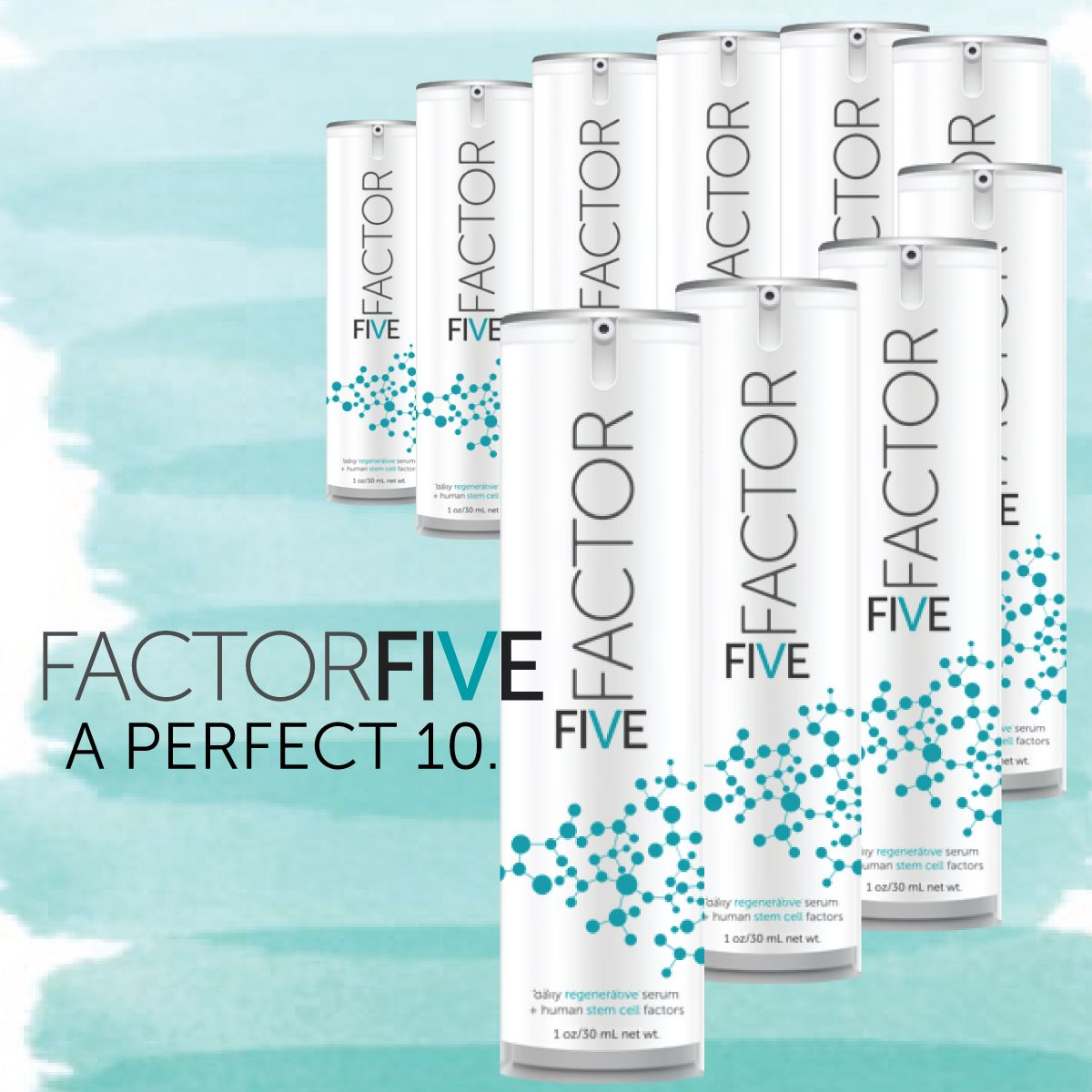 Fight The 5 Signs Of Aging With A Serum That S A Perfect 10 Antiaging Skin Care Anti Aging Skin Care Stem Cells
