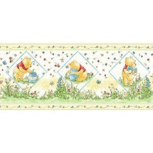 pooh border (With images) Winnie the pooh honey, Disney