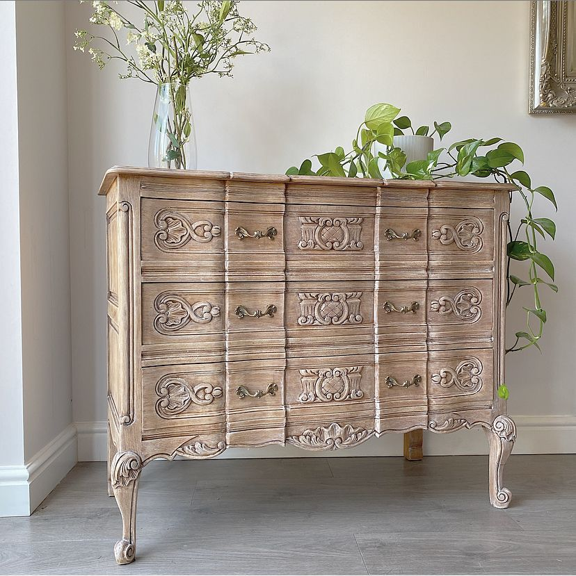 French Country Oak Limed / Raw Wood in 2020 Furniture
