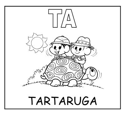 Alfabetizando Com Monica E Turma Familia Silabica T Familia Silabica Familia Educacao Infantil