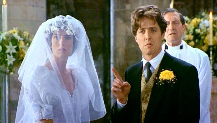 Four Weddings And A Funeral Wedding Movies Wedding Tv Weddings