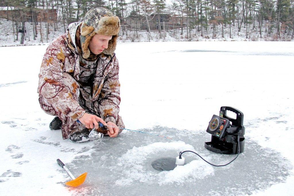 PHOTO GALLERY Ice fishing on Baldwin Lake (With images